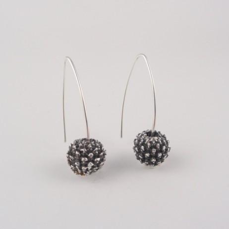 She oak earrings