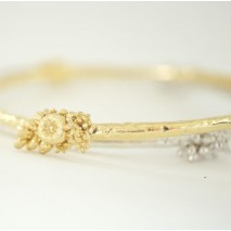 Tussie Mussie bangle