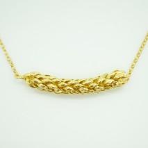 Norfolk pine necklace